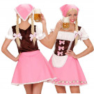 Costume Carnevale Travestimento Cameriera Bavarese Oktoberfest EP 08656 Effettoparty Store Marchirolo
