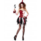Travestimento Halloween Arlecchina Horror PS 25594 Costume Carnevale Donna  Effettoparty Store Marchirolo