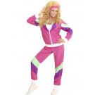 Costume Carnevale Tuta Anni 80 Travestimento Donna EP 26219 Effetto Party Store marchirolo