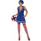Costume Carnevale Donna Marinaia Travestimento Sailor Cutie EP 08096 Pelusciamo Store Marchirolo