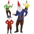 Costume Carnevale Gnomo Travestimeno Nano EP 26528 Effetto Party Store marchirolo