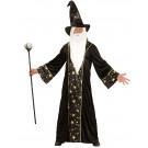 Costume Carnevale Mago Travestimento Fantasy Uomo EP 26395 Effetto Party Store marchirolo