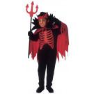 Costume Diavolo Da Bambino Travestimento Halloween Devil EP 25624 Effettoparty Store Marchirolo