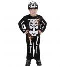Travestimento  Scheletro Halloween Da Bambino Ossa EP 25606 Effettoparty Store Marchirolo
