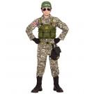 Costume Carnevale Soldato Americano Travestimento Militare  | Effettoparty.com