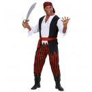 Vestito Carnevale Adulto, Abito Pirata Bucaniere | Effettoparty.com