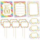 Kit Decorazione in Cartone per Feste e Buffet  | Effettoparty.com