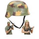 Elmetto Mimetico Guerra, Accessorio Costume Carnevale Militare |  pelusciamo store