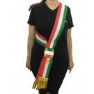 Fascia tricolore Sindaco A Nodo 200 x 90 Cm Made In Italy  PS 04630 pelusciamo store marchirolo