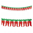 Banner festone Peperoncino 3 metri Party Texano | Effettoparty.com