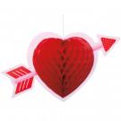 Accessori Festa San Valentino ,Festone Cuore  | Effettoparty.com