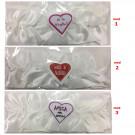 Giarrettiera Tipo Raso Bianca , Per Futura Sposa ed Amiche * 24367 Nubilato | Effettoparty.com