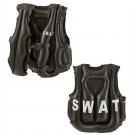 Giubbotto Antiproiettile Swat,Gonfiabile  Accessorio Carnevale Bambino  |  pelusciamo store