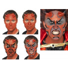 Make Up Trucco Halloween Carnevale Diavolo Demonio accessorio Smiffys