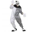 Abito Carnevale Halloween Uomo, Travestimento Pierrot  Killer *24570 | Effettoparty.com