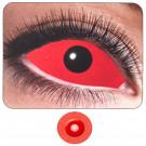 Kit Lenti a Contatto Colorate Rosso Occhio Pieno EP 11261 Semestrali