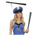 Accessori x costume carnevale poliziotti militari Manganello polizia *19908