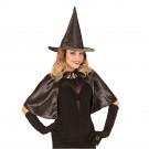 Accessori Halloween Mantellina Con Cappello Strega EP 08931 Effettoparty Store Marchirolo