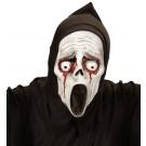 Maschera Halloween da Bambino , Fantasma Sream  | effettoparty.com