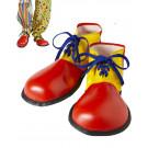 Accessorio travestimento Carnevale Scarpe da Pagliaccio Clown *15135
