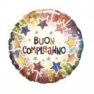 Palloncino Olografico in Foil 45 cm , Festa Compleanno *01468| Effettoparty.com