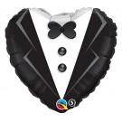 Palloncino per Matrimonio in Foil , Abito Sposo *03462 | Effettoparty.com