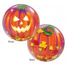 Palloncino Bubbles 52 cm   Zucca ,  Arredo Party Halloween *11306 | Effettoparty.com