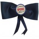Papillon con Spilla Io Sono Lo Sposo PS 03534 Gadget Addio Celibato  pelusciamo store Marchirolo