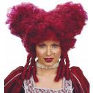 Parrucca Viola Stile Brocco per Costume Donna | Effettoparty.com