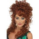 Parrucca da Donna Accessorio costume Carnevale Western Saloon 11737