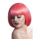 Parrucca Corta Donna Caschetto Rosa Mia PS 08320 Parrucche Carnevale Effettoparty Store Marchirolo