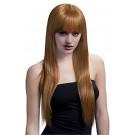 Parrucca Lunga Castano Chiaro Jessica PS 08328 Parrucche Donna Carnevale Effettoparty Store Marchirolo