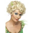 Parrucca Da Fata Bionda Corta Con Fiore PS 08092 Parrucche Da Donna Carnevale Pelusciamo Store marchirolo (Va)
