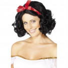 Parrucca Donna Fata Nera Corta Ondulata PS 08098 Parrucche Carnevale Pelusciamo Store marchirolo (Va)