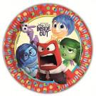 Accessori Festa Compleanno Inside Out  Piatti 23 cm  *03358 Disney  | Effettoparty.com