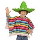 Poncho Messicano Travestimento Festa Bambino   | Effettoparty.com