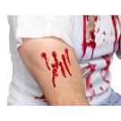 Make Up Trucco per Halloween Carnevale Ferita taglio sanguinante smiffys