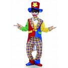 Costume Carnevale da pagliaccio clown fiorello 05274  effettoparty