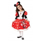 Costume Carnevale Bambina Disney Minnie topolina Winter *05207 effettoparty