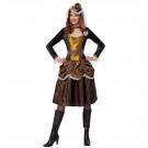 Costume Carnevale Steampunk Fantastientific Girl EP 26246 Effetto Party Store marchirolo
