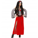Abito Carnevale Halloween Donna Sacerdotessa Woodoo *24567 Travestimento | Effettoparty.com