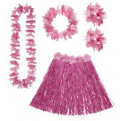 Accessorio costume carnevale Hawaiana Rosa | effettoparty.com
