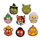 Accessorio Halloween Set 24 Mascherine per Bimbi    | Effettoparty.com