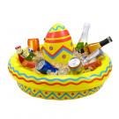 Sombrero Gonfiabile Portabibite Festa Messicana *03840 | Effettoparty.com
