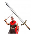 Spada 86 cm. accessorio per costume carnevale crociato romano *19724 pelusciamo store