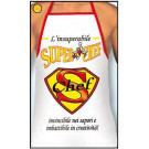 Grembiule Adulto Superchef , Scherzo Cuoco    | Pelusciamo.com