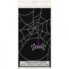 Tovaglia Nera con stampa a Ragnatela con ragno , Festa Halloween| Effettoparty.com