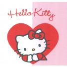 Set 20 Tovaglioli Carta Hello KItty Heart   | Effettoparty.com