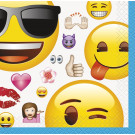 Set 16 Tovagliolini Carta Emoji Smile  | Effettoparty.com