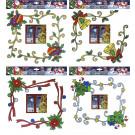 2 Vetrofanie Angolo Finestra, Decorazione Natale  | Effettoparty.com